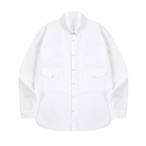 EASY POCKET SHIRT (WHITE)